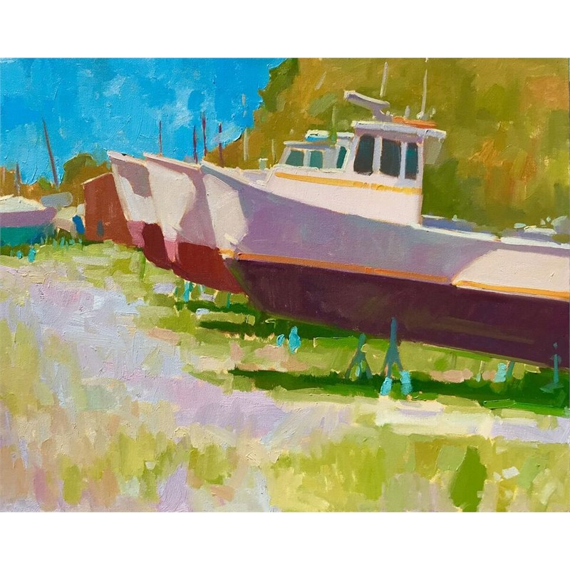 Boat Yard Teal