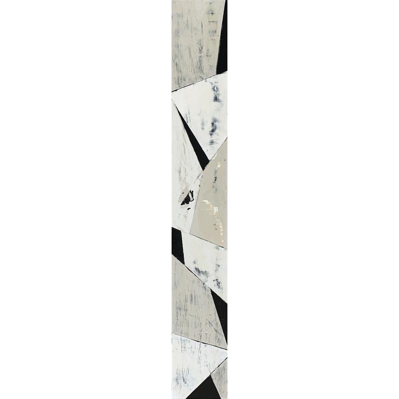 Faccetta: Black & Tan III by Ann Griffith