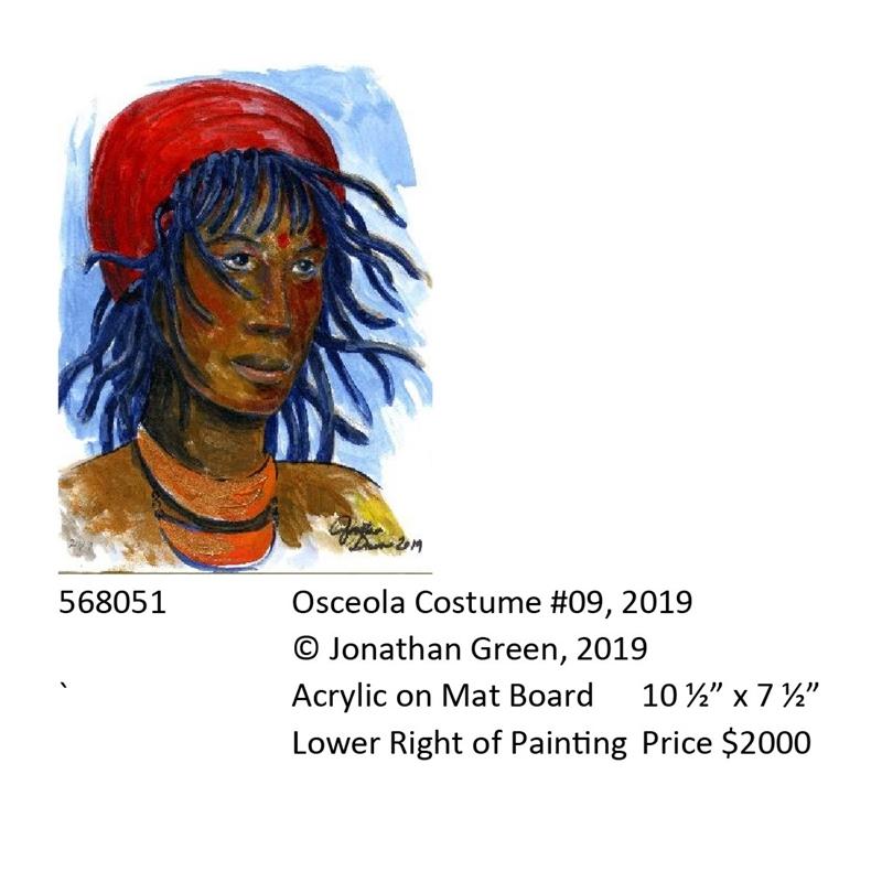 Osceola Costume #9, 2019