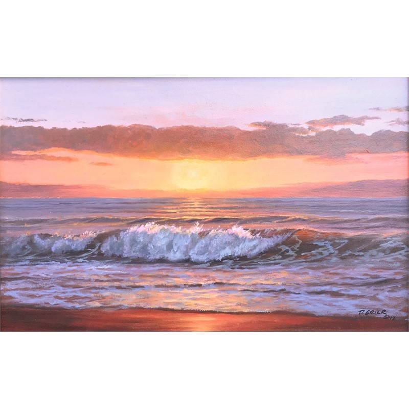 Ocean Sunrise by Douglas Grier