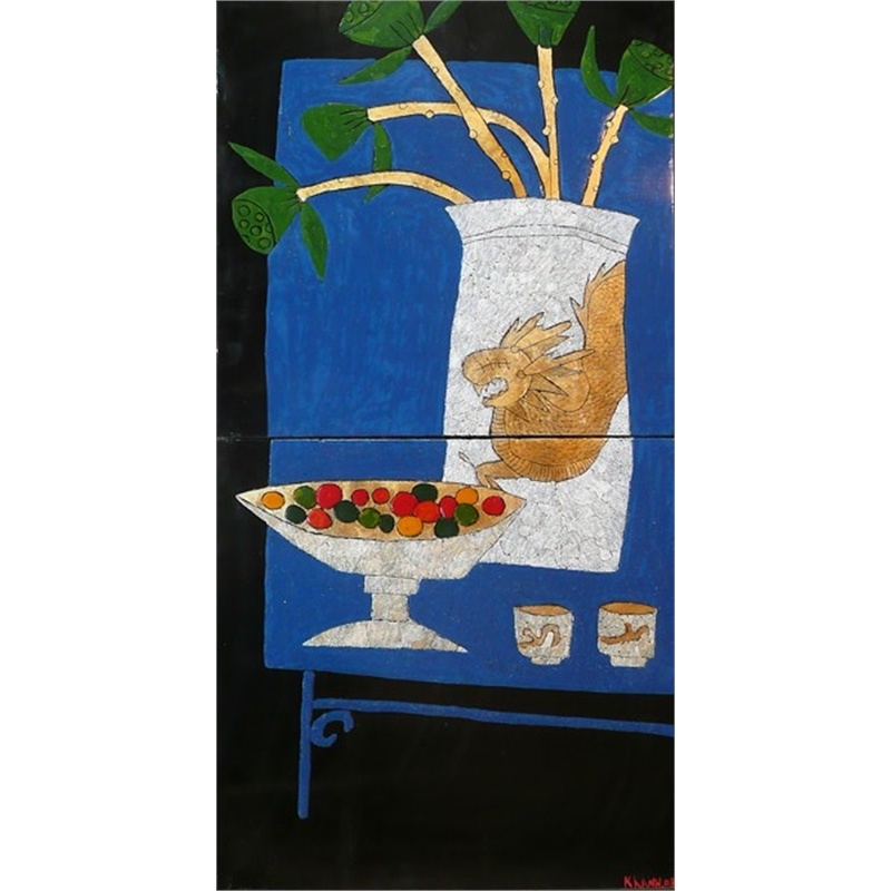 Still Life with Blue Table, 2008