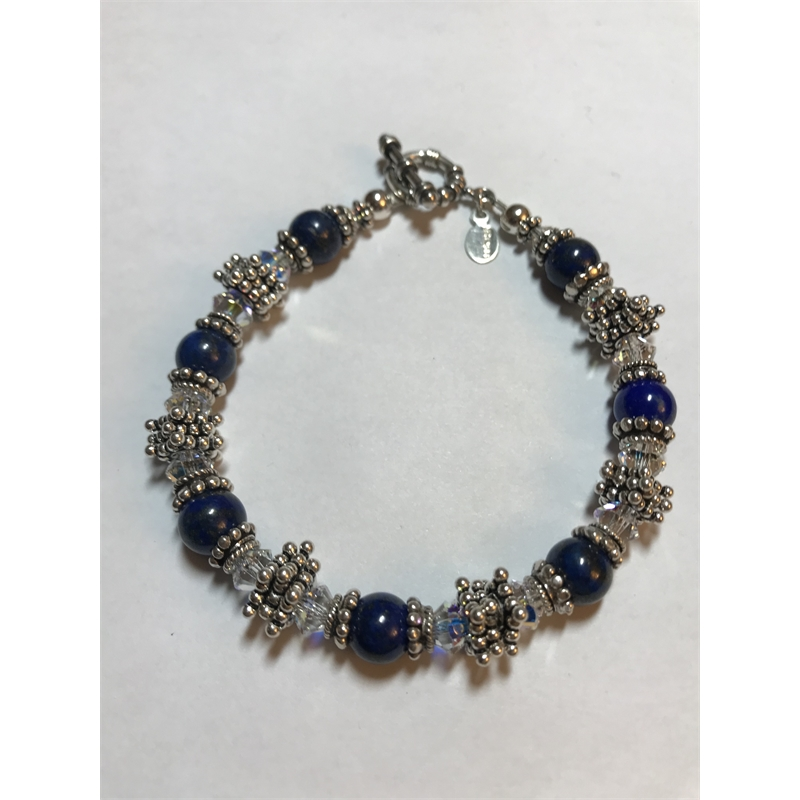 Lapis on Bali Sterling Silver, 2019