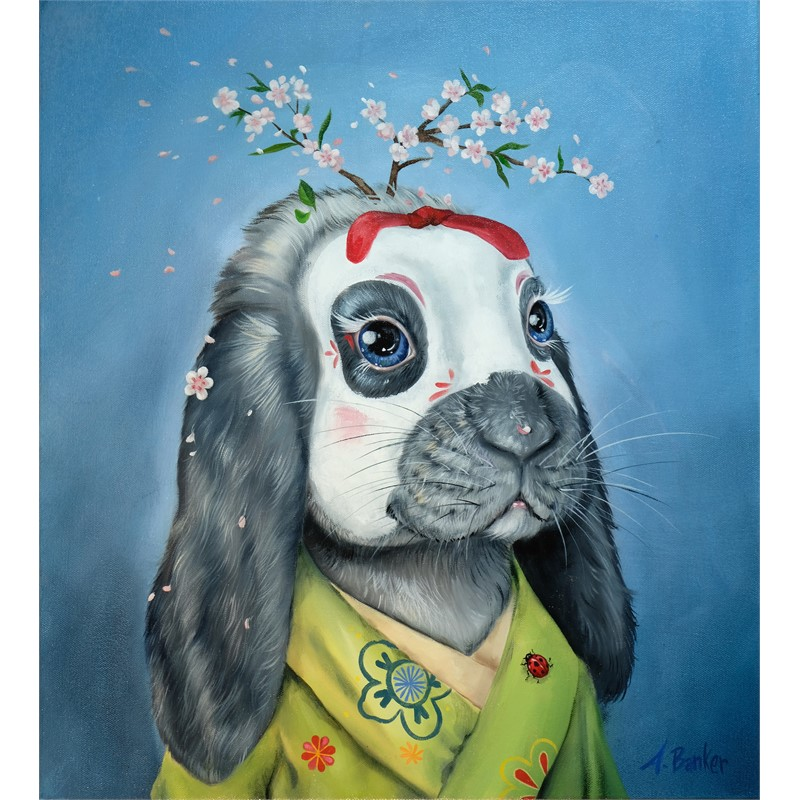 KIKO BLOOM BUNNY, 2017