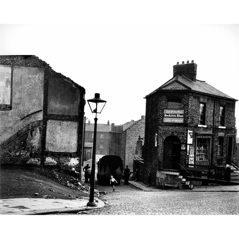 No. 223 Street Scene, Newcastle, England, 1951