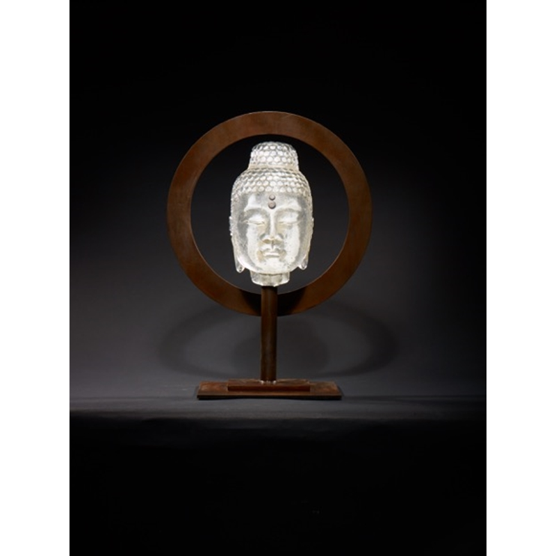 Halo Buddha - White by Marlene Rose