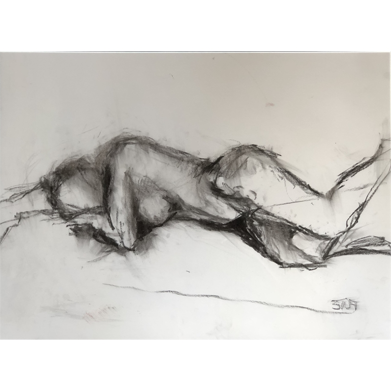 Reclining Nude Two, 2019