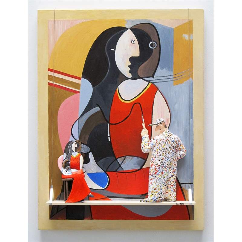 Seated Woman (Picasso), 2019