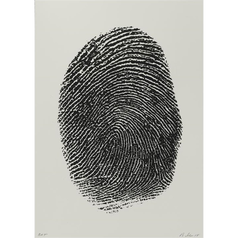 Not Manzoni (Impronte pollice sinistro), 2015