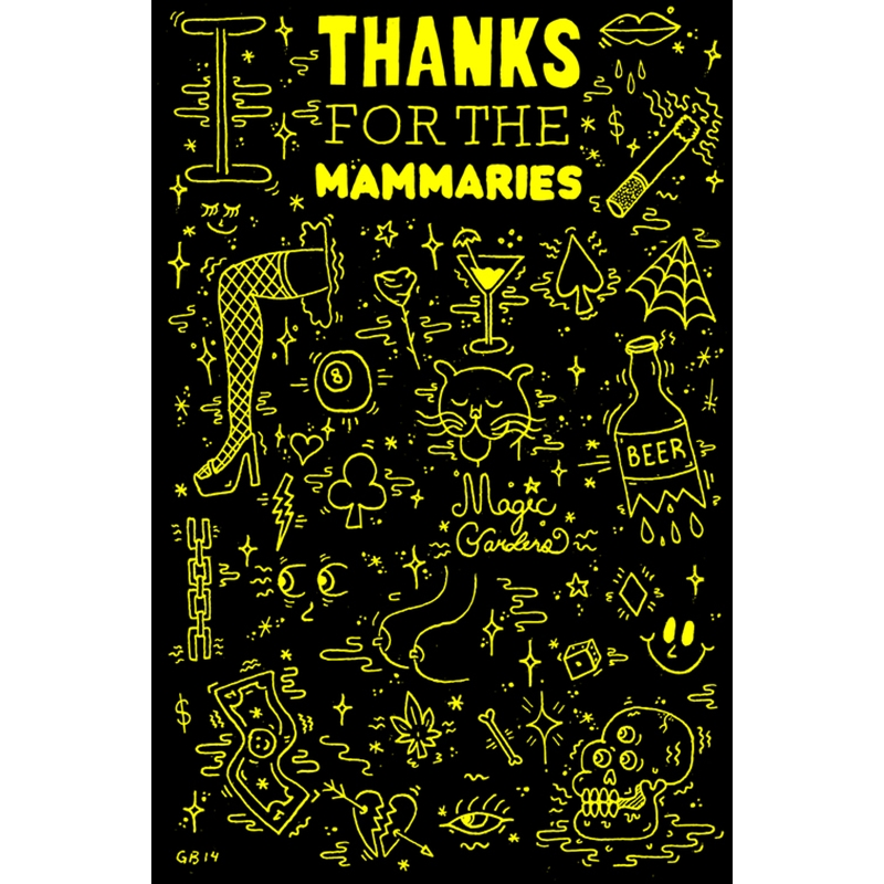 """""""Thanks for the Mammeries"""" by Greg Bemis"""
