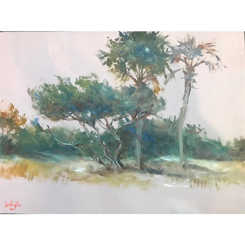 Study of the Cedar Tree and Palmettos, 2019
