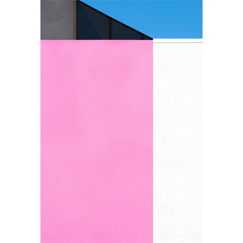 Pink, White and Blue (2/8), 2019