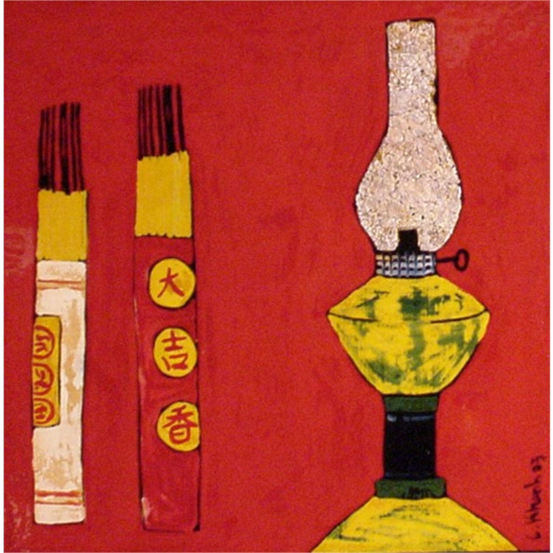 Still Life with Lantern and Incense, 2003