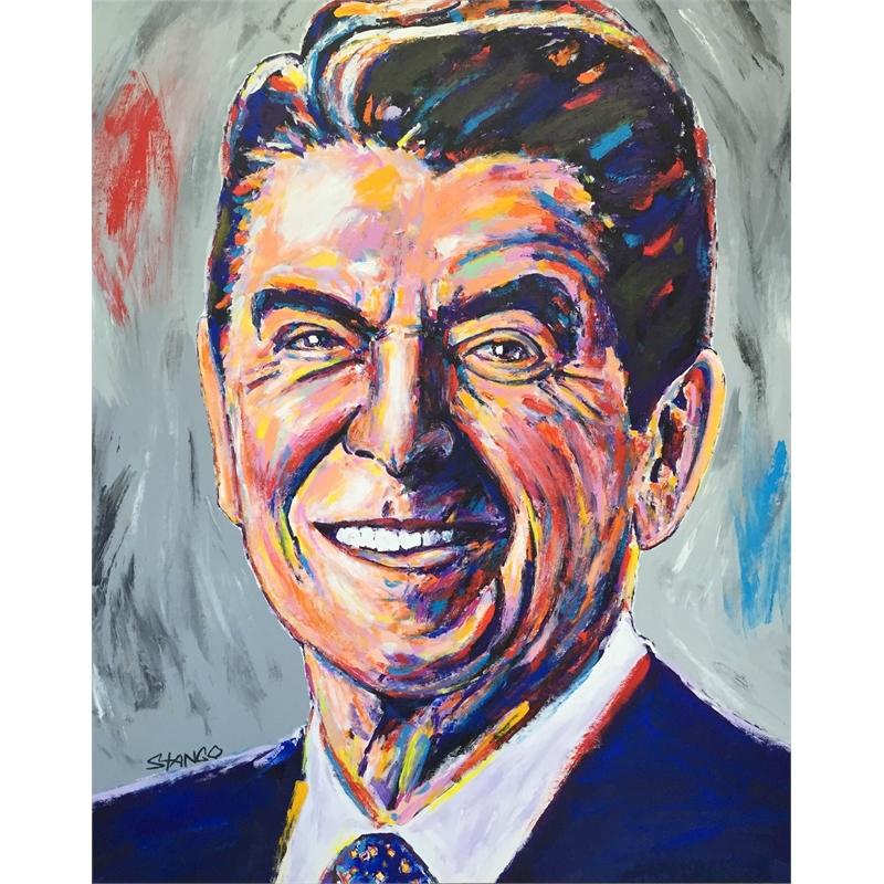 Presidential Portrait Series: Reagan