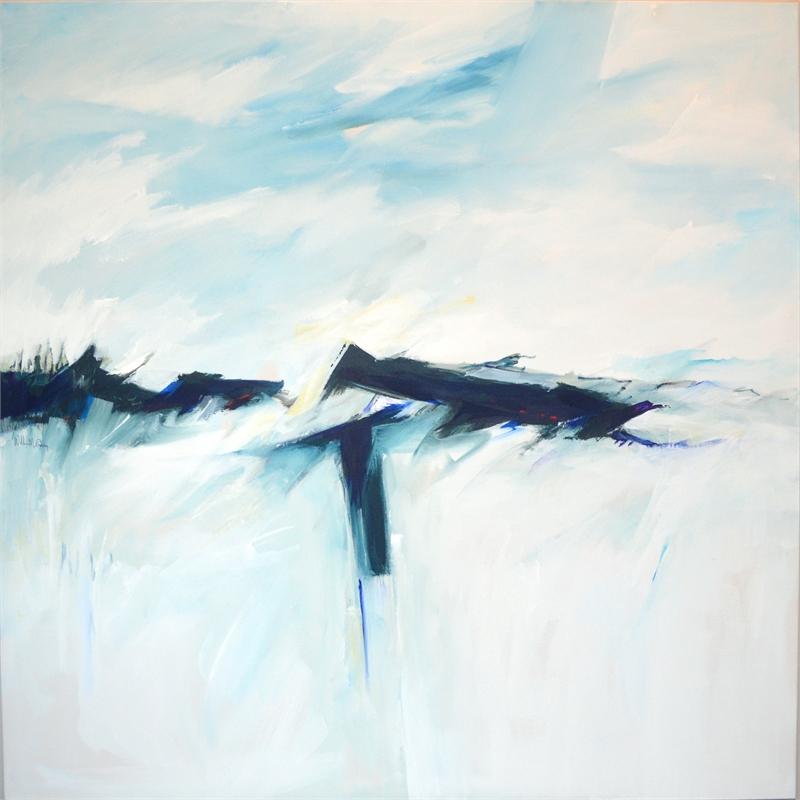 Deep Blue Abstract