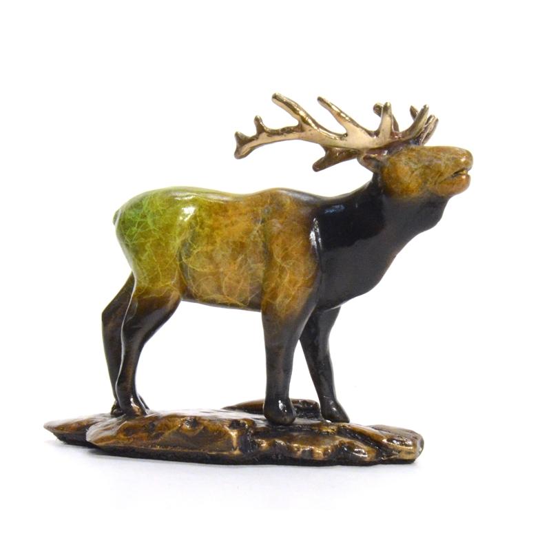 Where My Girls At? (Bull Elk) (1/500), 2015
