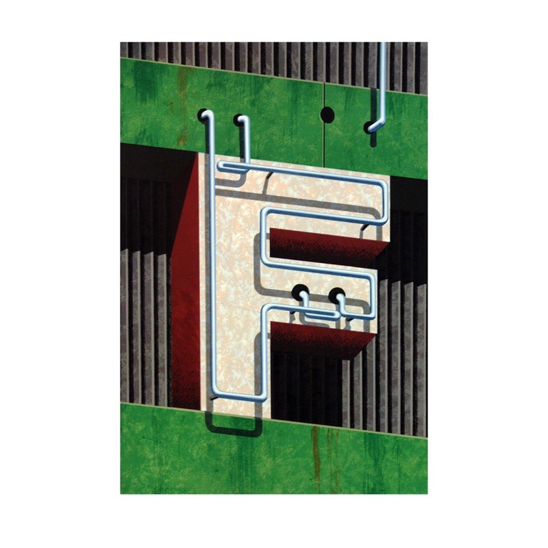 An American Alphabet: F (1/40), 1997