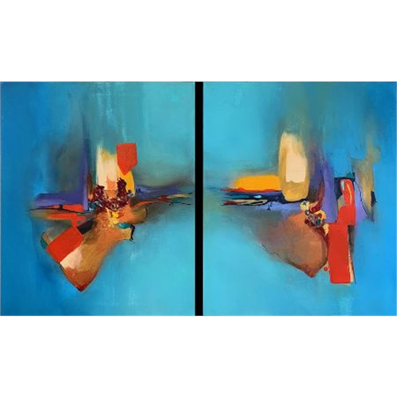 Electricity Diptych
