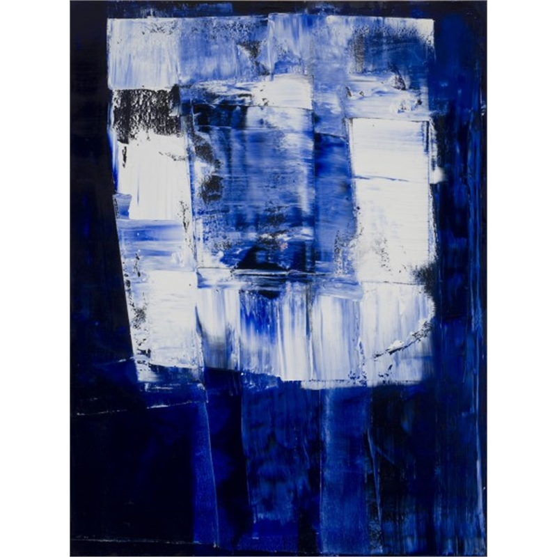 Blue-White No. 2, 2013