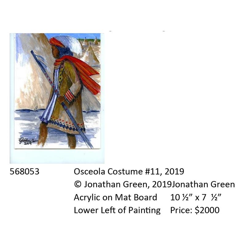Osceola Costume #11, 2019
