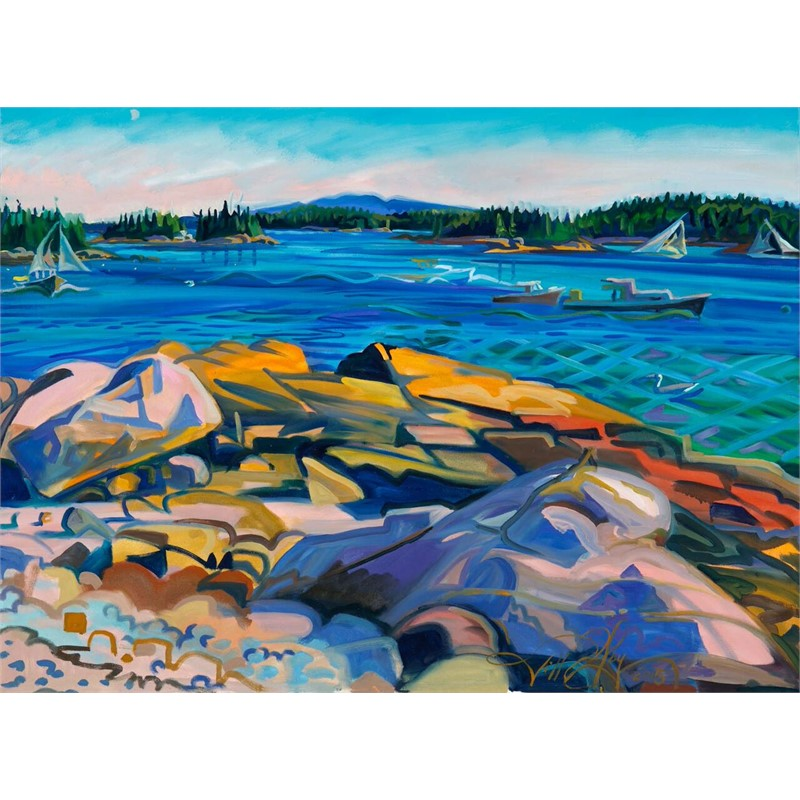Autumn Clarity, Stonington Thorofare