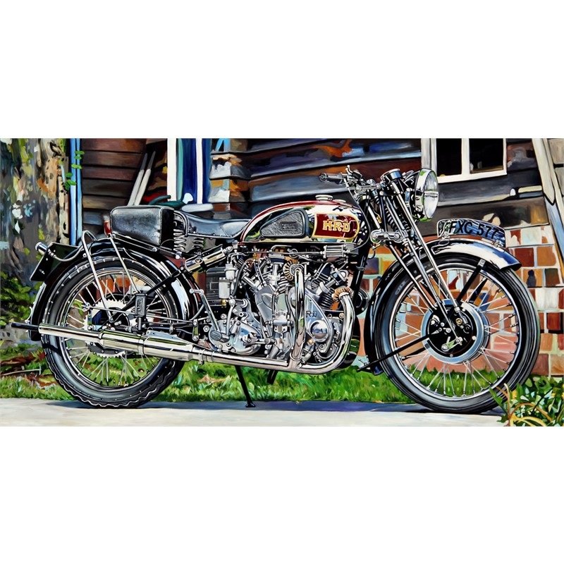 1939 Vincent Series A Rapide by Taralee Guild