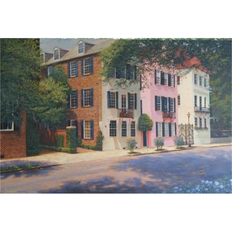 Meeting Street Stroll by Douglas Grier -- Giclee Prints
