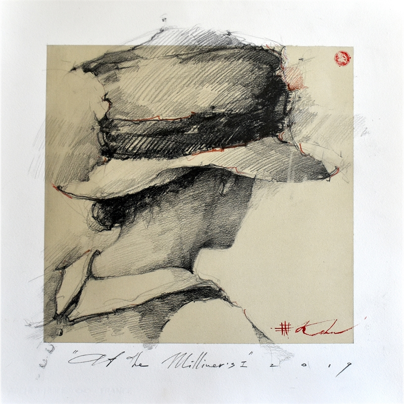 """""""At the Milliner's""""  I, 2019"""