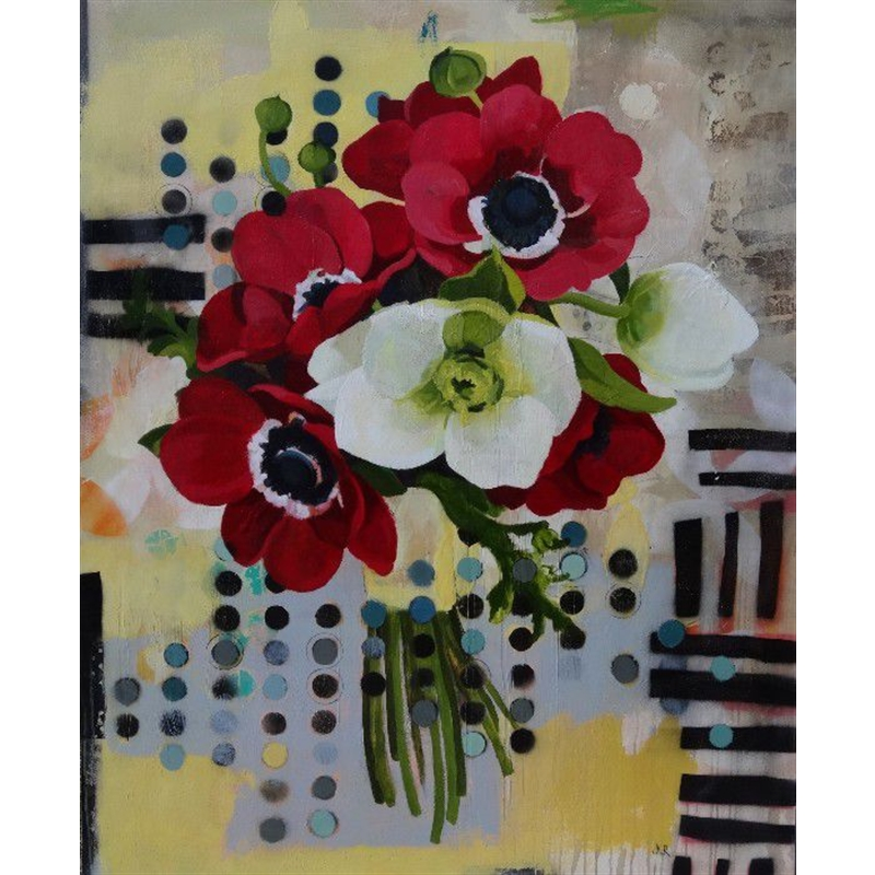 Gathered Red by Jennifer Rasmusson