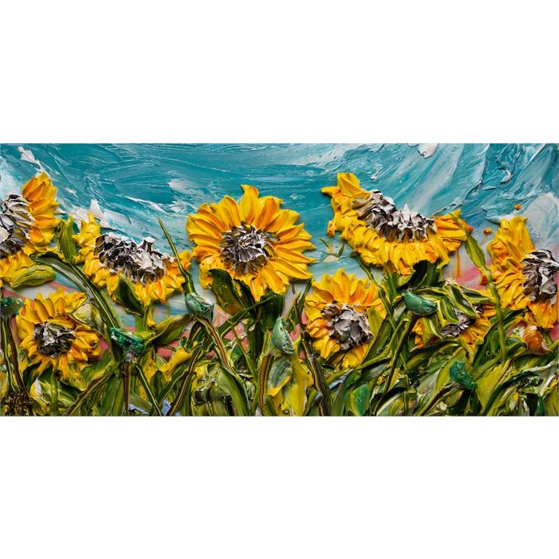SUNFLOWERS SF-60X30-2019-374, 2019