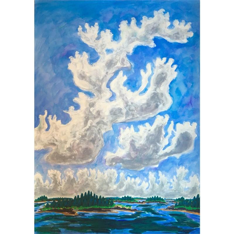 Cumulus Rising