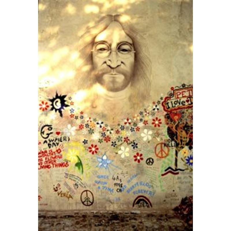 Lennon Wall, Prague, 2020