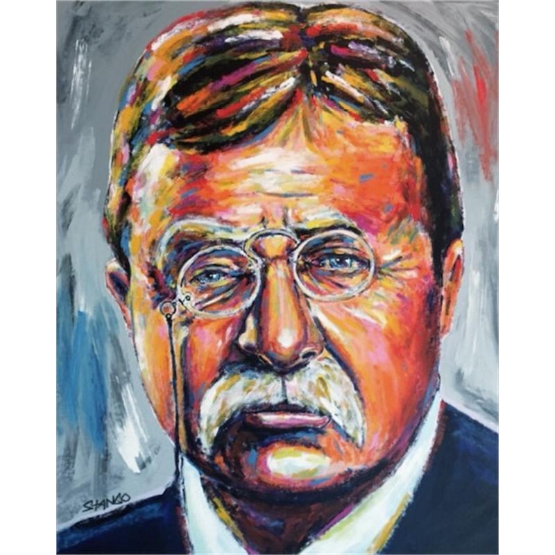 Presidential Portrait Series: Teddy Roosevelt