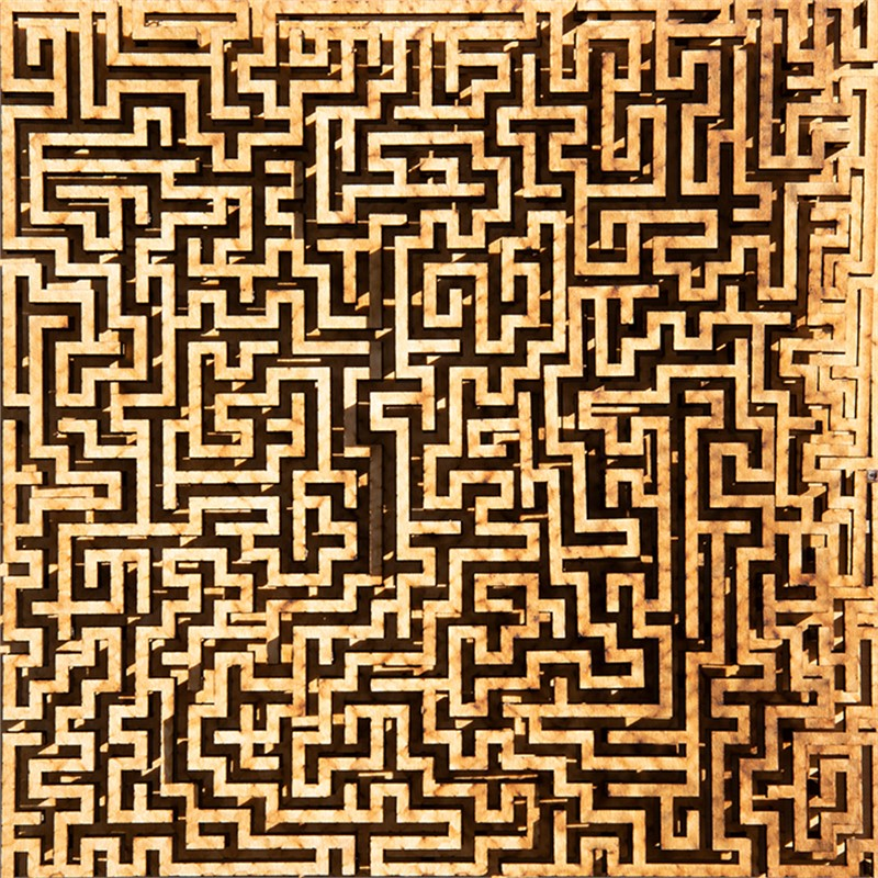 UNFINISHED MAZE, 2019