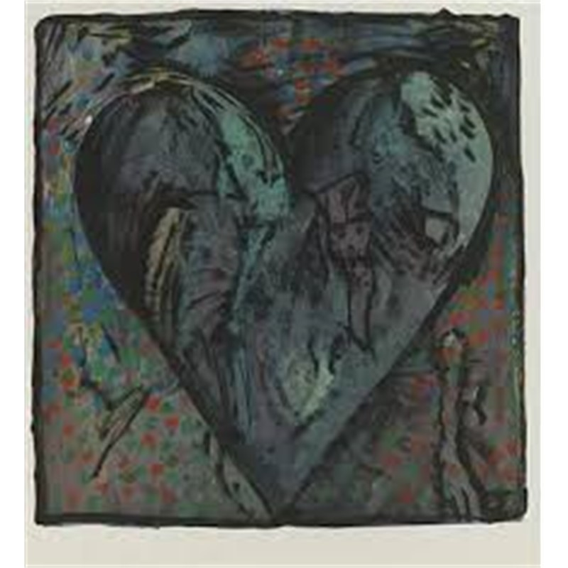 The Hand Colored Viennese Hearts VI (11/40), 1990