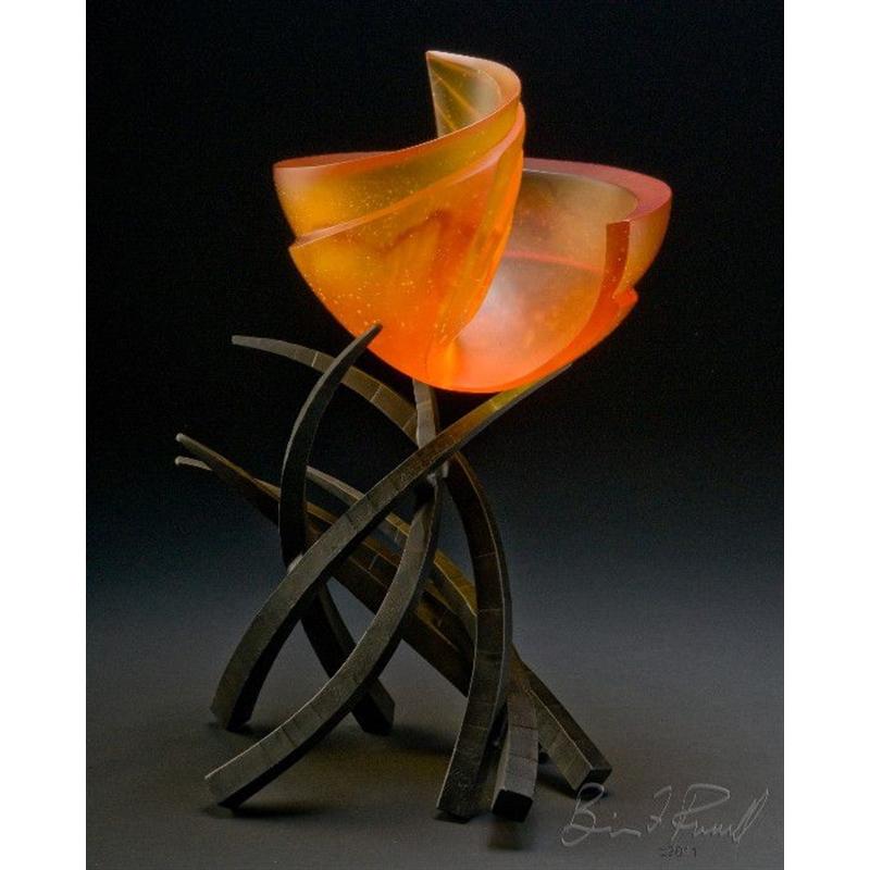 Hemisphere Orange Slice by Brian Russell
