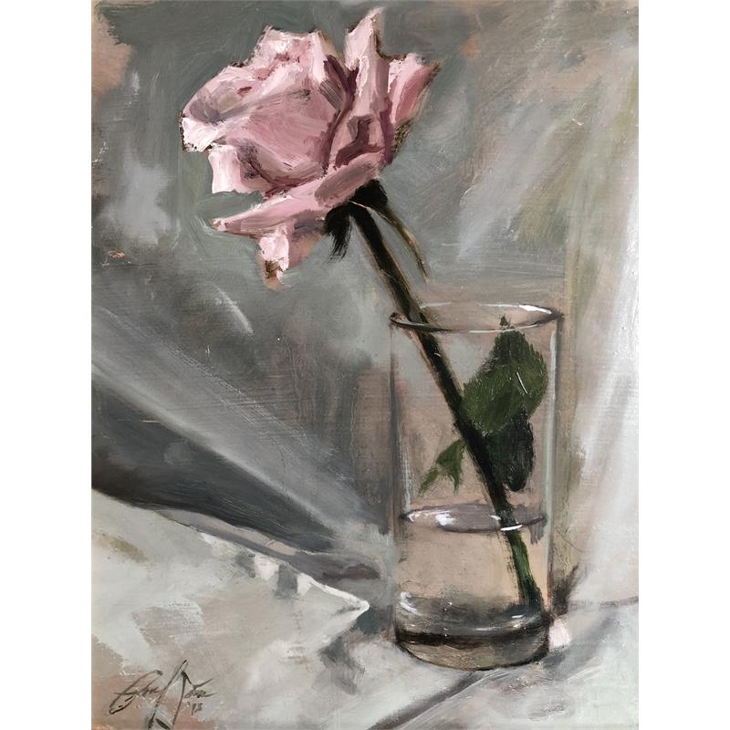 Rose in Glass, 2018