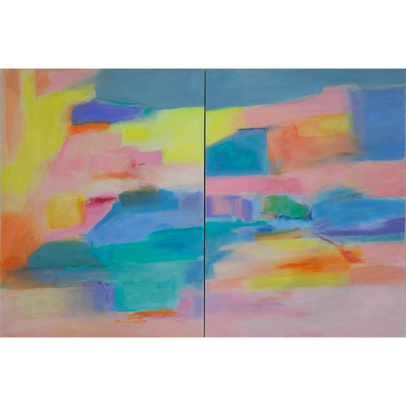 Channel and Strait, Passages 5 & 6 (Diptych) , 2018