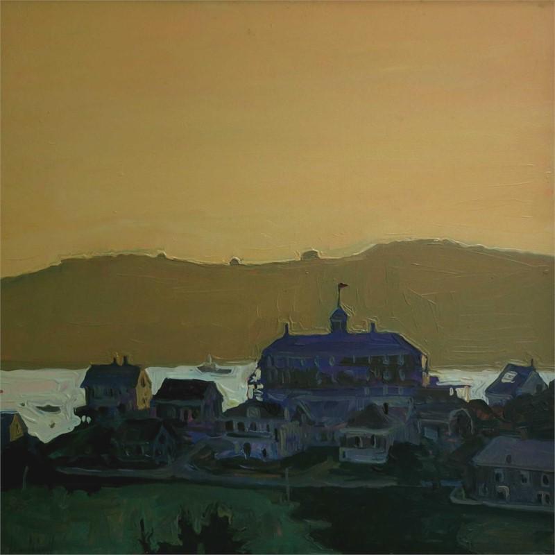 Mohegan Island - Sunset over Manana
