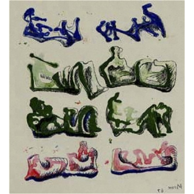 Eight Reclining Figures (1/125), 1967