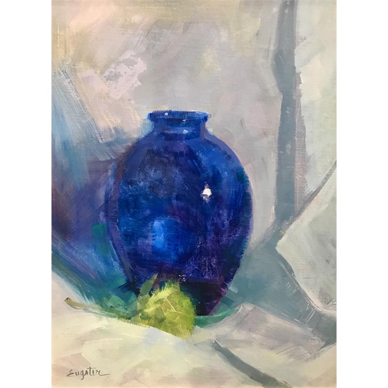 Blue Vase, 2017