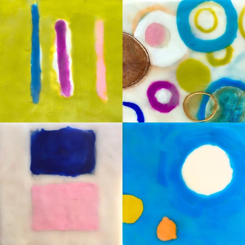 Mini Pairing VII- Paintings Sold Separately