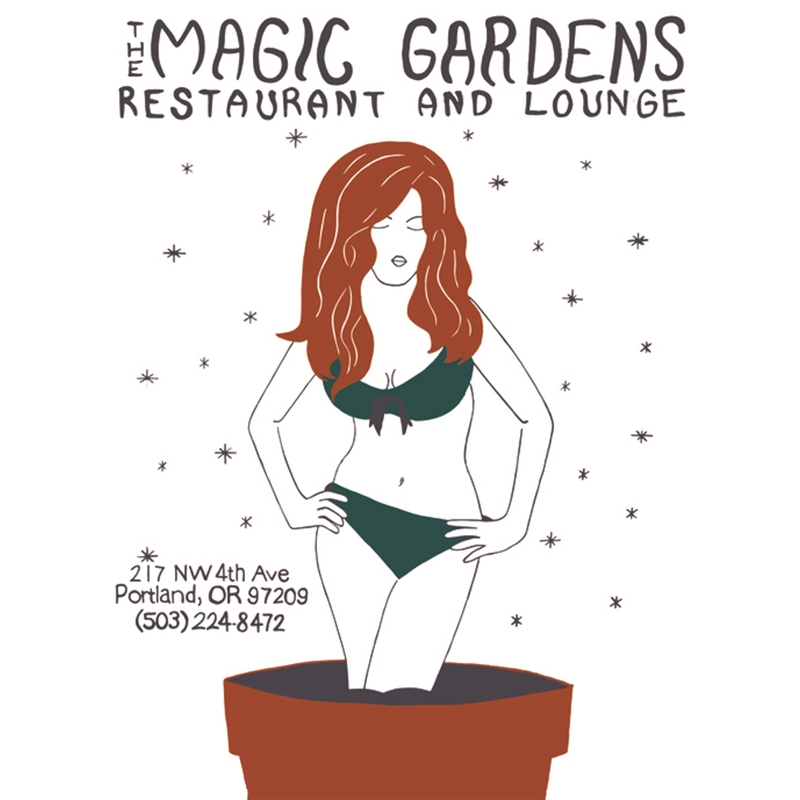 """""""Magic Gardens"""" by Gabriel Edwards"""