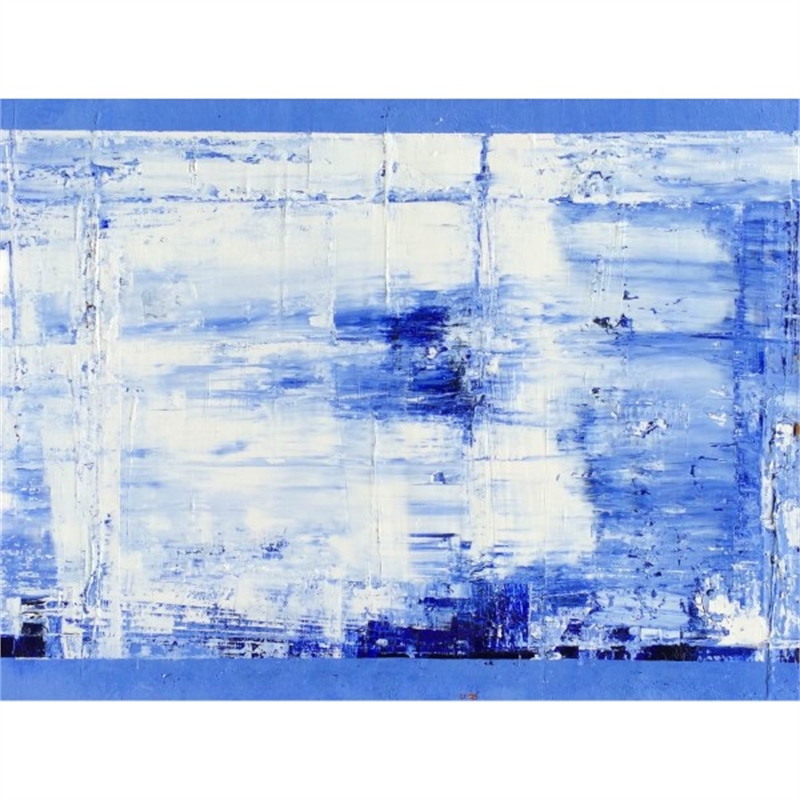 Blue-White No. 16, 2015