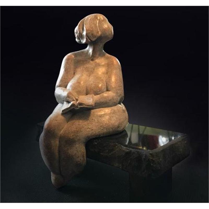 Love Story (bronze, granite)