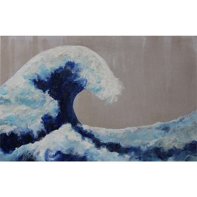 The Wave (Ode to Hokusai)