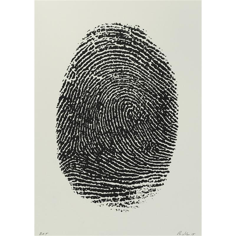 Not Manzoni (Impronte pollice destro, 1960) (14/60), 2015