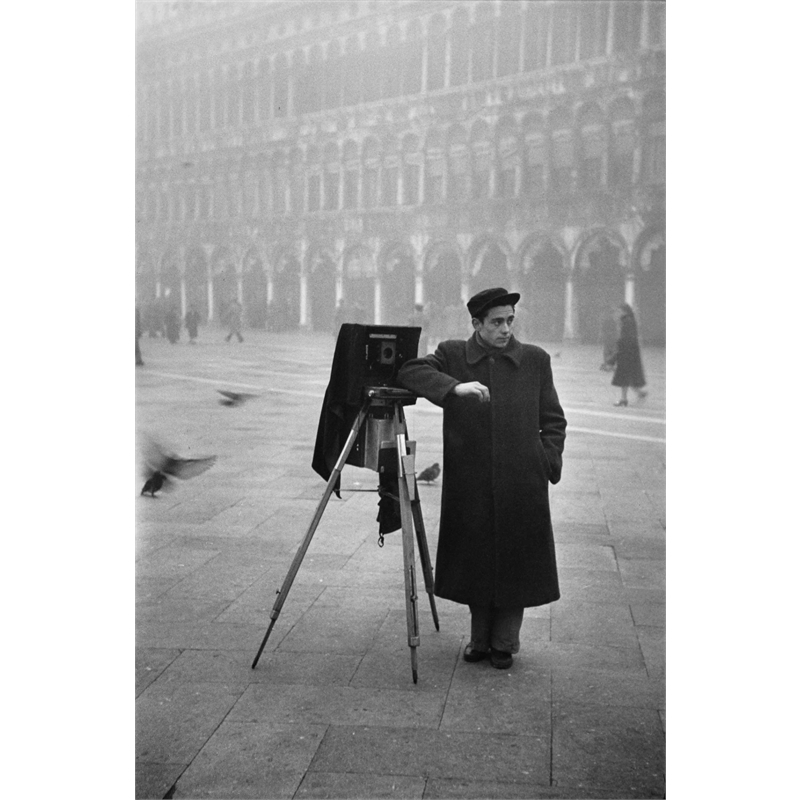 No. 106 Photographer in Piazzo San Marco, Venice, Italy, 1951