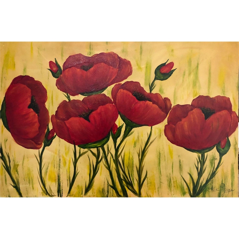 Red Poppies, 2019