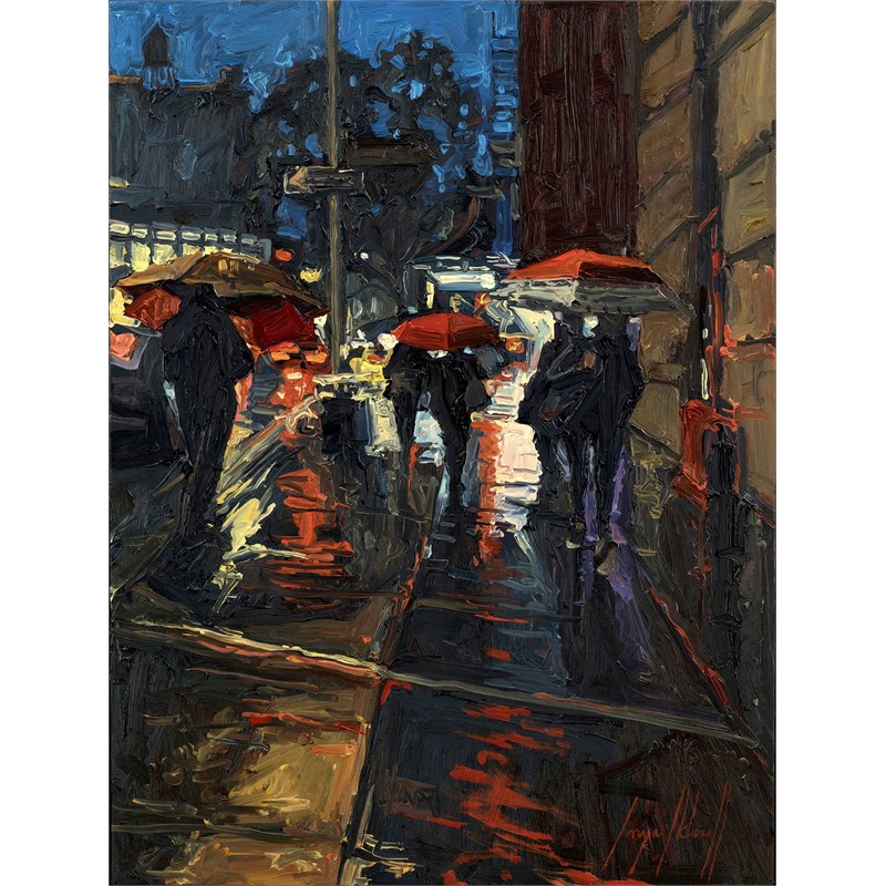 Bleecker Street Rain
