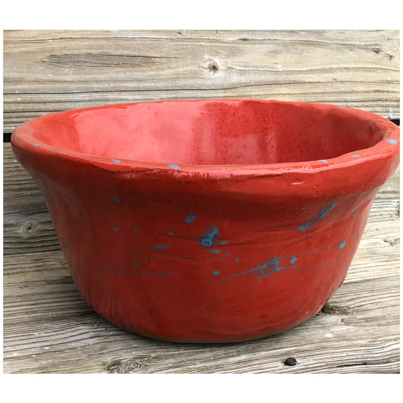 Large red bowl, 2019